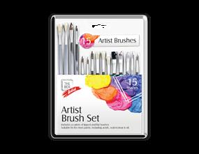 Artists Paint Brush Set