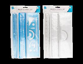 Wholesale Ruler And Stencil Sets | Gem Imports Ltd
