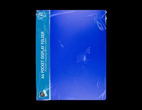 A4 Pocket Display Folder - 20 Pocket