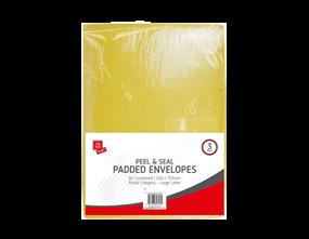 Medium Padded Envelopes 24cm x 33.5cm - 3 Pack