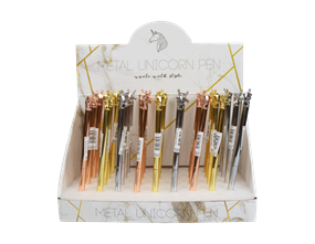 Wholesale Unicorn Metal Pens | Gem Imports Ltd
