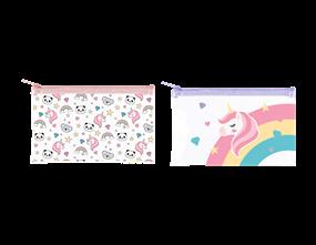 Wholesale Kids Rainbow PVC Pencil Cases   Gem Imports Ltd