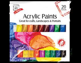 Acrylic Paints 12ml 20pk