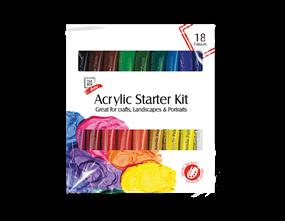 Acrylic Starter Kit 36ml 18pk