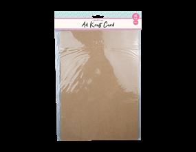 Wholesale A4 Kraft Card 15 Pack | Gem Imports Ltd