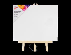 Wholesale Artist Easel with Canvas 24x30cm | Gem Imports Ltd