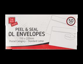 Wholesale White DL Envelopes | Gem Imports Ltd