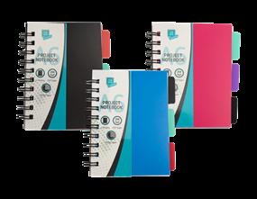 Wholesale A6 Project Notebooks | Gem Imports Ltd