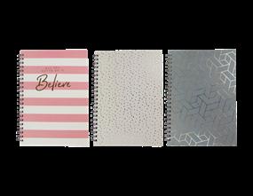 Wholesale A4 Foil Wiro Notebooks | Gem Imports Ltd