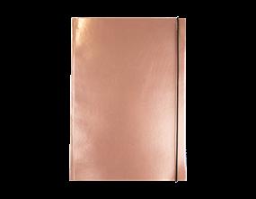 Wholesale A4 Rose Gold Foil Notebooks | Gem Imports Ltd