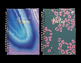 Wholesale B5 Hard Back Foil Notebooks | Gem Imports Ltd
