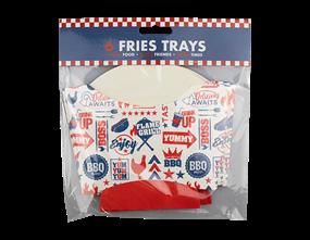 Wholesale BBQ Fries Trays | Gem Imports Ltd