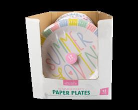 Wholesale Summer Paper Plates | Gem Imports Ltd