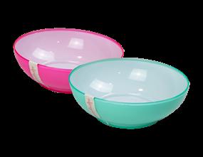 Wholesale Two Tone Picnic Bowls | Gem Imports Ltd