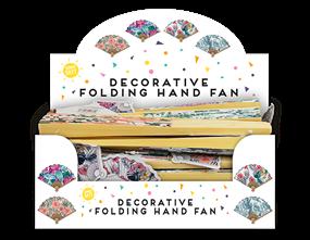 Wholesale Decorative Hand Fans | Gem Imports Ltd