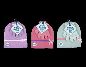 Wholesale Girls Beanie Hat & Gloves Sets | Gem Imports Ltd