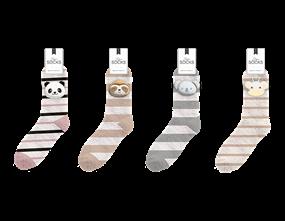 Ladies Novelty Slipper Socks