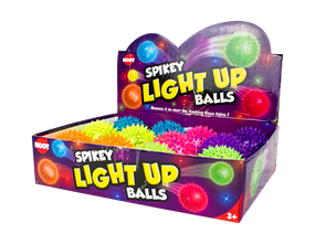 Flashing Spikey Ball