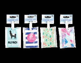Wholesale Fashion Luggage Tags | Gem Imports Ltd