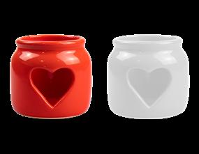 Heart Cut-Out Tealight Holder