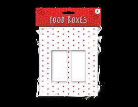 Valentine's Food Boxes 2pk