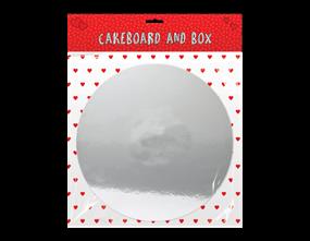 "Valentine's 12"" Cakeboard & Box"