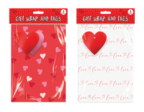 Wholesale Valentines Day Wrapping Paper | Gem Imports Ltd