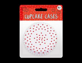 Valentine's Printed Cupcake Cases 60pk