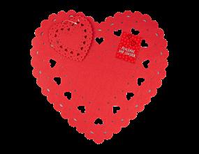 Wholesale Valentine's Heart Placemats   Gem Imports Ltd