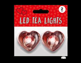 Chrome Heart LED Tealights 2pk