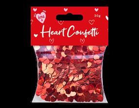Valentine's Heart Confetti