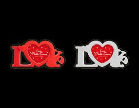 Valentine's Love Photo Frame