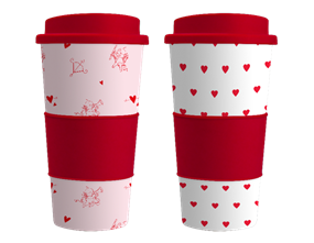 Valentine's Travel Mug
