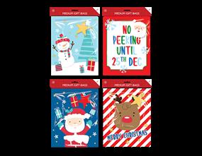 Wholesale Christmas Cute Medium Gift Bags | Gem Imports Ltd