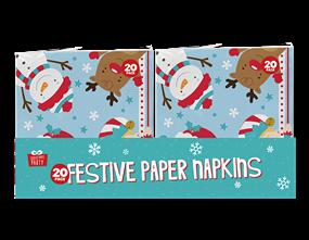 Wholesale Christmas 3 Ply Napkins | Gem Imports Ltd