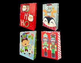 Wholesale Christmas Cute Luxury XL Gift Bags | Gem Imports Ltd