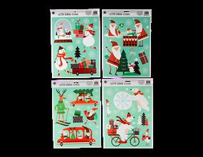 Wholesale Glitter Novelty Window Stickers | Gem Imports Ltd
