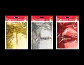 Wholesale Holographic Medium Christmas Gift Bags | Gem Imports Ltd