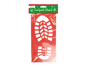 Wholesale Christmas Footprint Stencils | Gem Imports Ltd