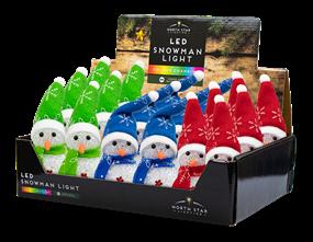 Wholesale Colour Changing Snowmen | Gem Imports Ltd