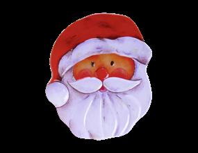 Wholesale Santa Head Shaped Tin | Gem Imports Ltd