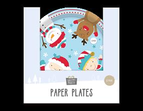 Wholesale Christmas Paper Plates | Gem Imports Ltd