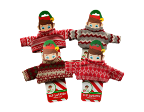 Wholesale Elf Knitted Sweaters | Gem Imports Ltd