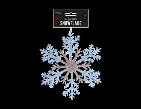 Wholesale Rose Gold Acrylic Snowflakes   Gem Imports Ltd
