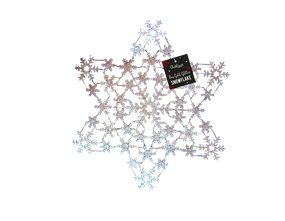 Wholesale Rose Gold Acrylic Snowflakes | Gem Imports Ltd