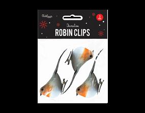 Wholesale Christmas Robin Clips | Gem Imports Ltd