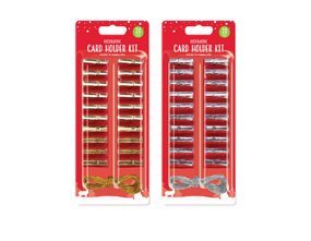Wholesale Metallic Christmas Card Holders | Gem Imports Ltd