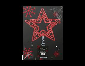 Wholesale Red Tree Top Stars | Gem Imports Ltd