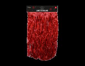 Wholesale Red Lametta Garlands | Gem Imports Ltd