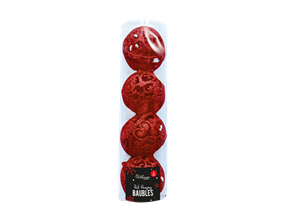 Wholesale Red Hanging Baubles | Gem Imports Ltd